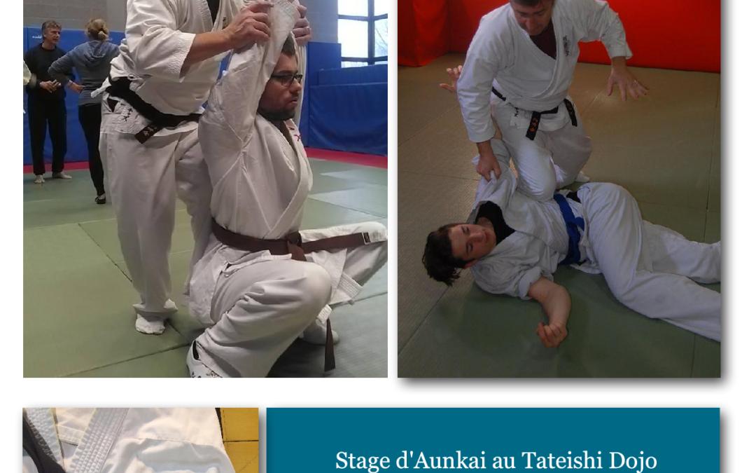 Aunkai – Stage au Tateishi dojo – Villars 01330