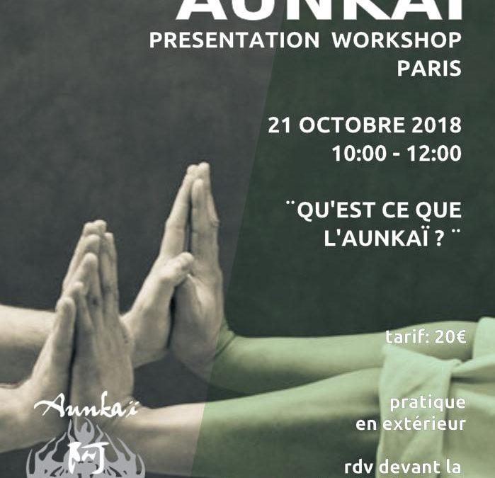 Aunkai: workshop à Paris avec Manabu Watanabe (Hanshi)