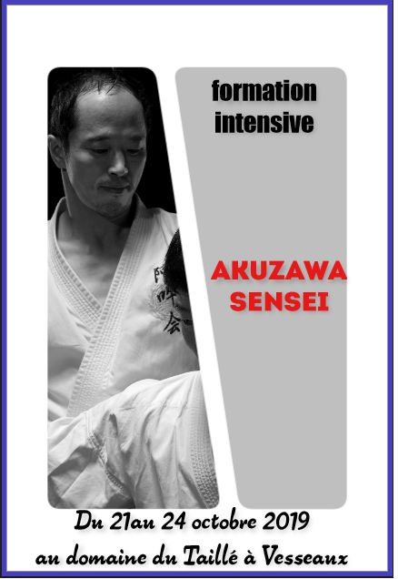 AUNKAI Formation Intensive Octobre 2019